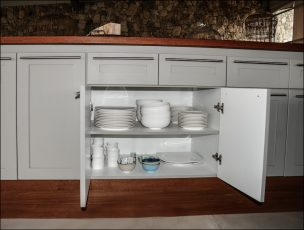 Drawers and cupboards